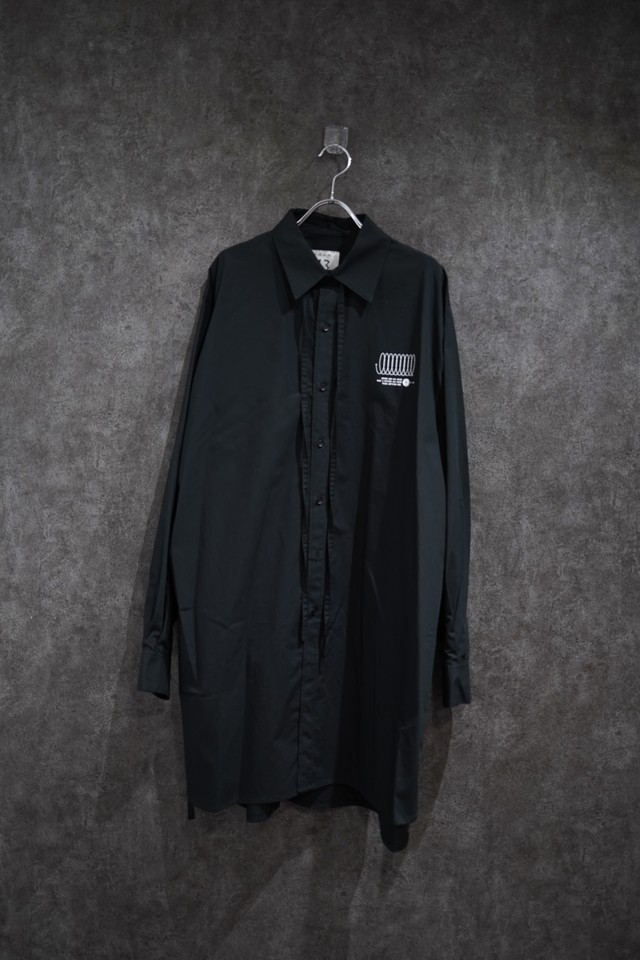 room.13  graphic shirt  Black
