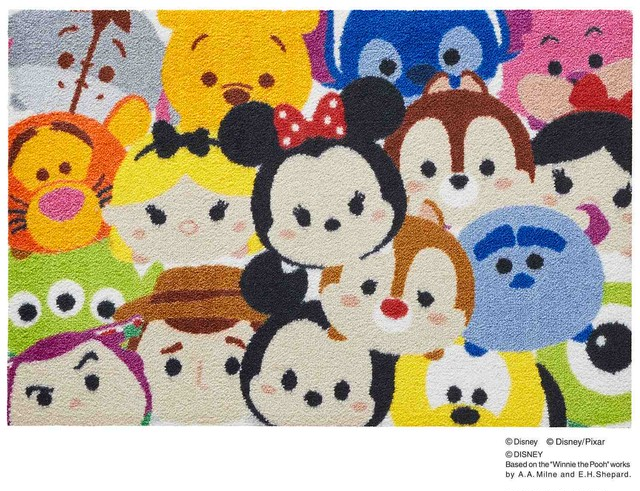 Tsum Tsum/ツムツム 50 × 75 cm 【Disney Mat collection】