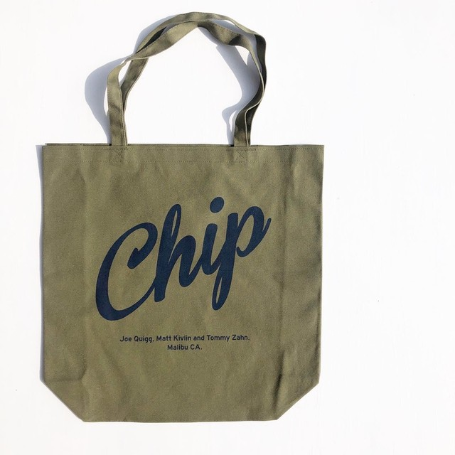 "Surge Coast Store ""Chip"" Tote Bag  サージコーストストア""チップ""トートバック"