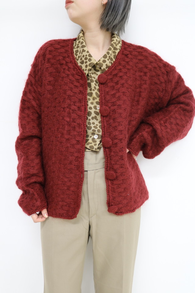 design knit cardigan / TP11170005