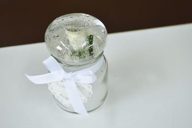アロマキャンドル ガラス容器入り 5-005-422b ろうそく フレグランスキャンドル クリスマスキャンドル キャンドル かわいい おしゃれ