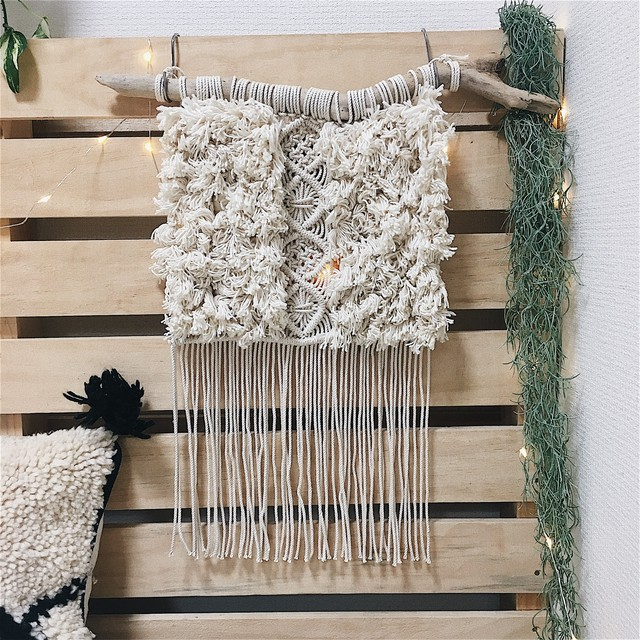 Macrame wallhanging - weaving -