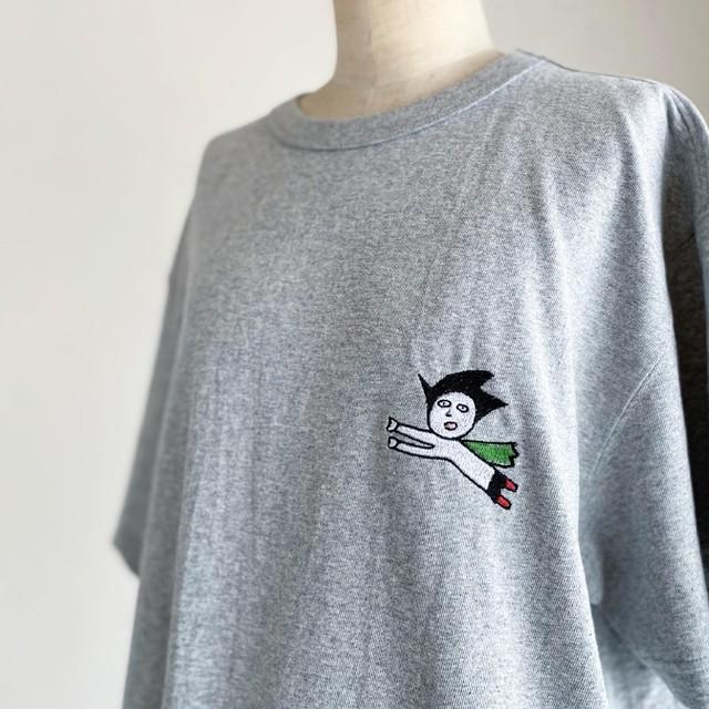 【巨匠動物園】化学に弱い子 刺繍Tシャツ