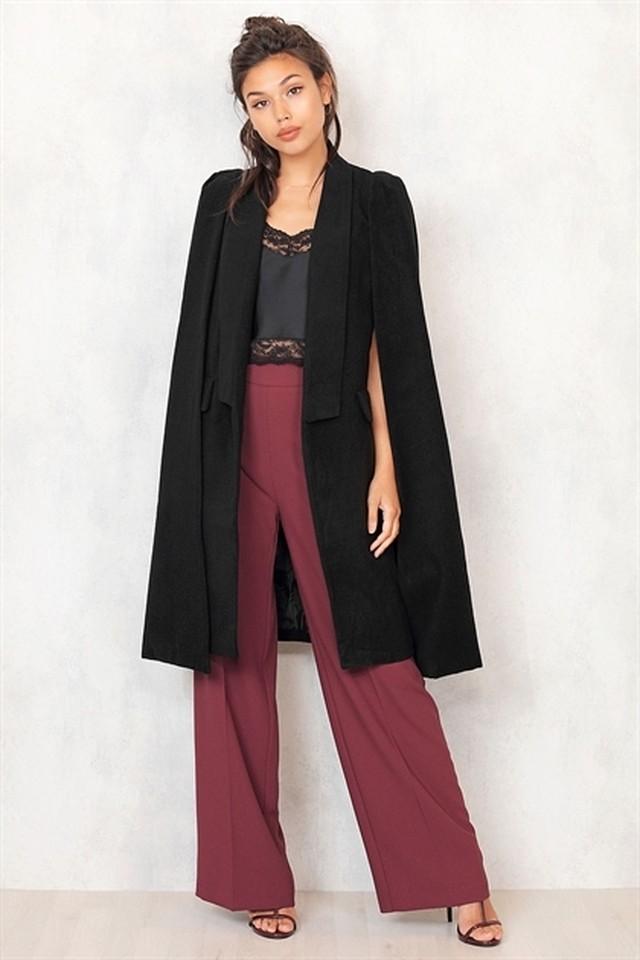 [CHIQUELLE] Cape Coat 10SE013-17 |インスタでも話題の海外セレブ系レディースファッション Carpe Diem