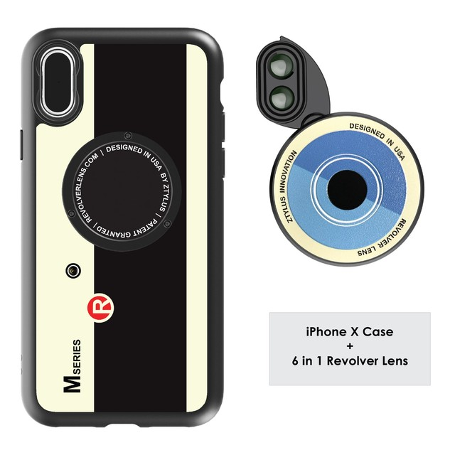 Revolver M6 Len Kit 6in1 iphoneX - limited edition 限定版 - RETRO CAMERA