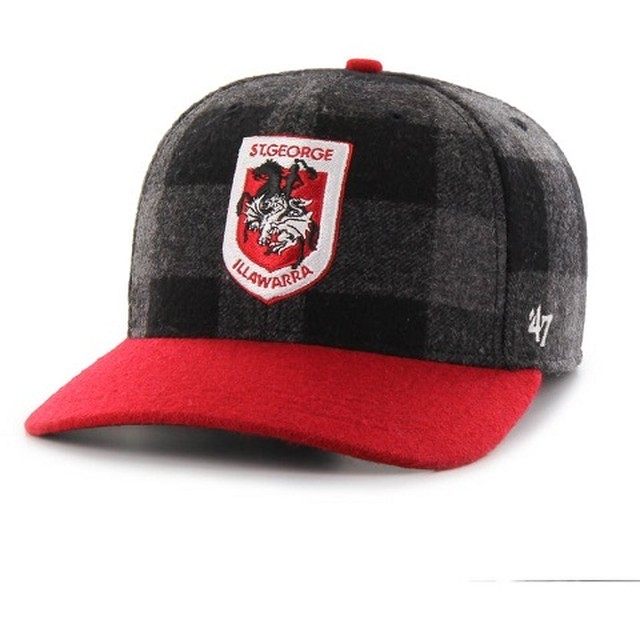 Illawarra Dragons Snapback Checkered