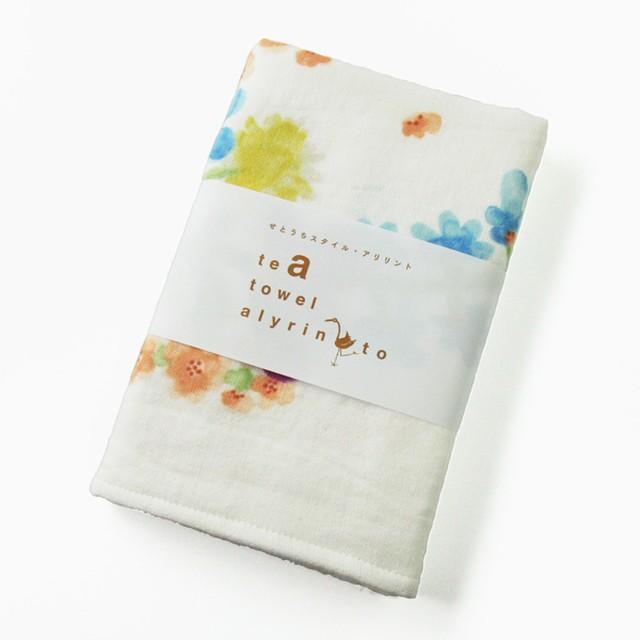 Alyrinto [ナチュラルガーデン] ティータオル/グリーン