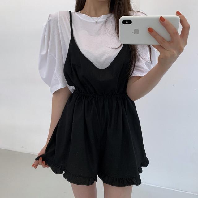 Tシャツ+オールインワンセット V00692