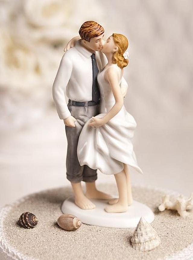 ケーキトッパー【ロマンチック編】ビーチ☆ウエディング (MJ707543)