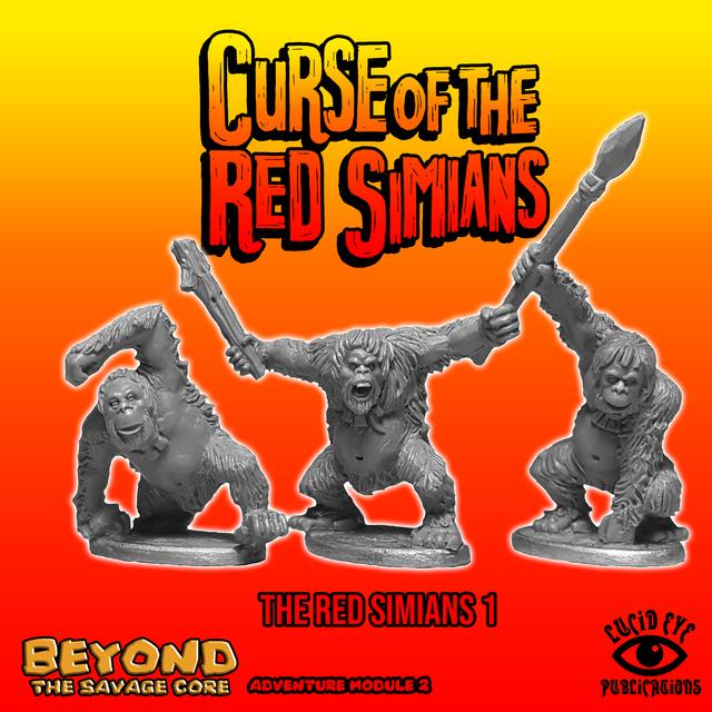 REDSIM1 RedSimian Bods 1 (3 figures pack)