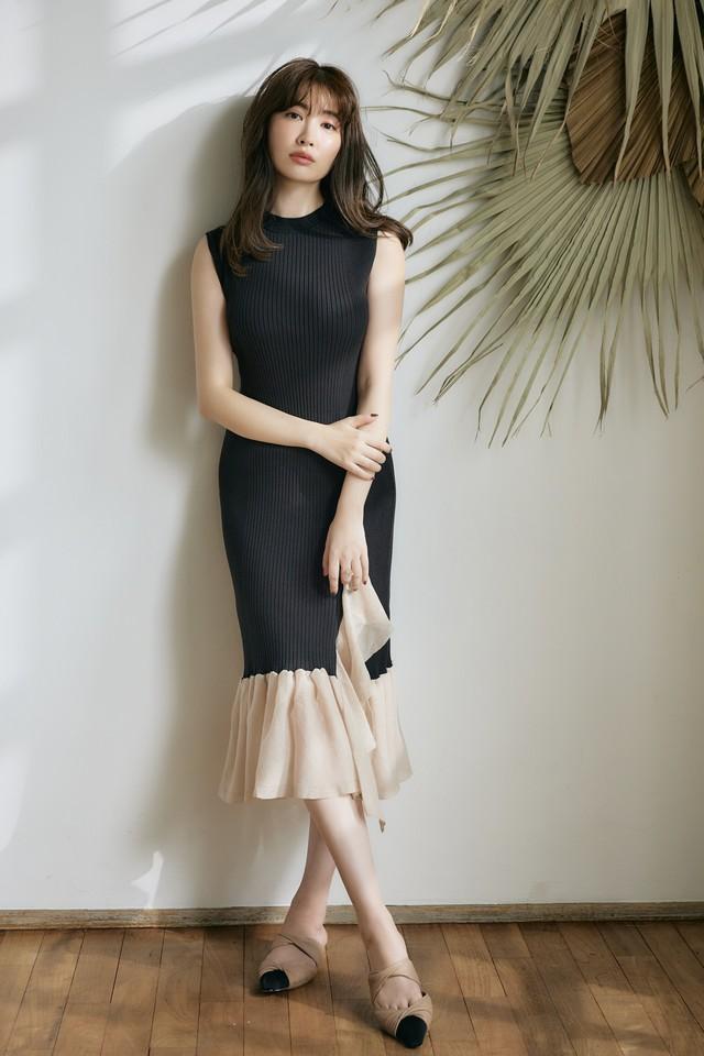 Two-tone Twinkle Knit Dress