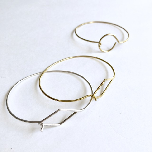 Wirr hook bangle BT-003