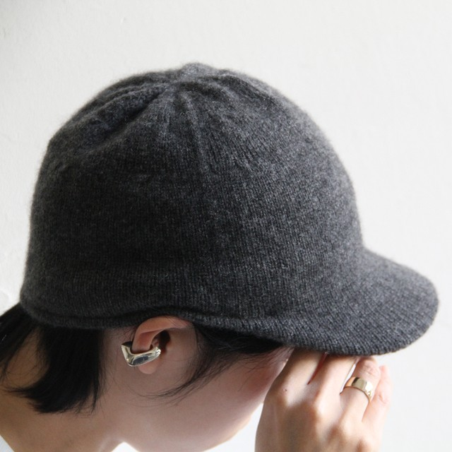 HICOSAKA【 mens 】techtweed 8panel cap