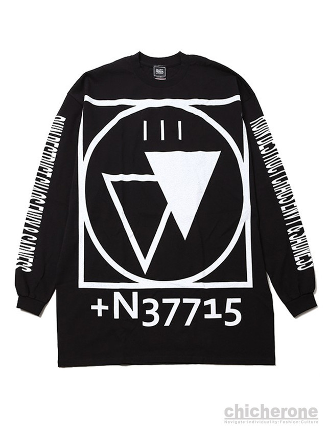 【SILLENT FROM ME】 -Outsize Long Sleeve-
