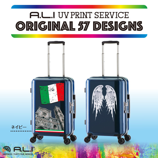 【UV PRINT】ORIGINAL 57 DESIGNS  ADY-1100-18.5 ネイビー