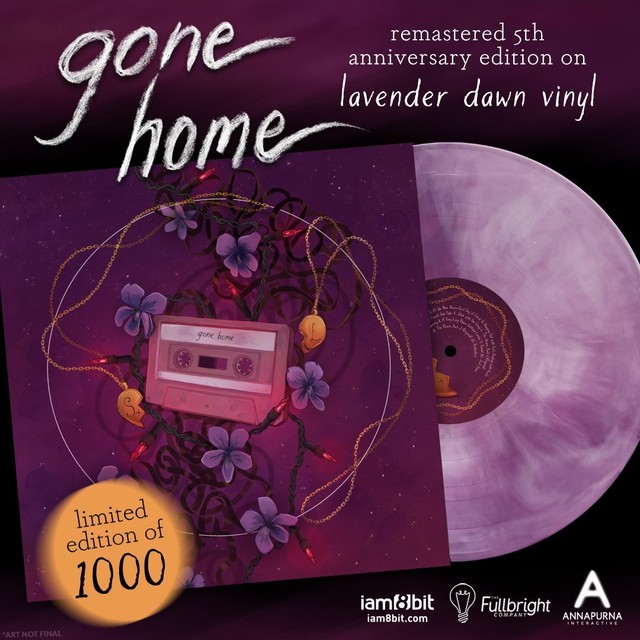 GONE HOME VINYL SOUNDTRACK (5TH ANNIVERSARY EDITION) / iam8bit