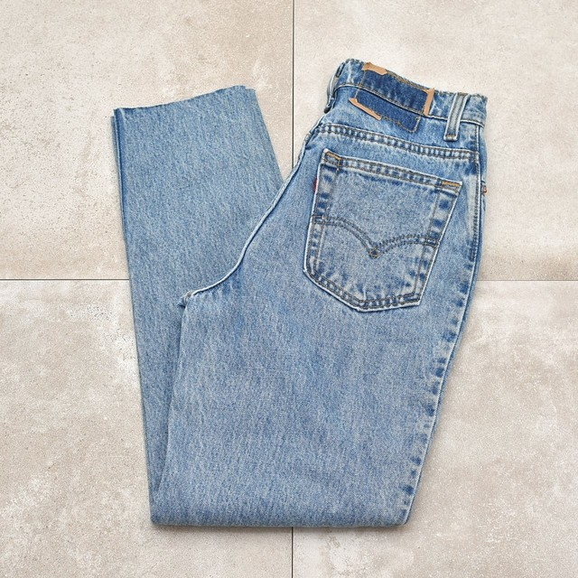 90s Levi's512 cut off tapered pants USA製