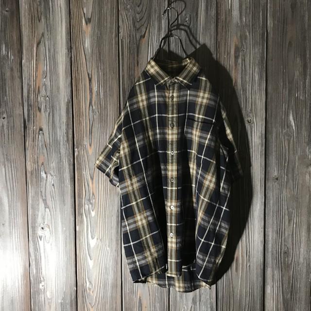 [Burberry]vintage color shirt
