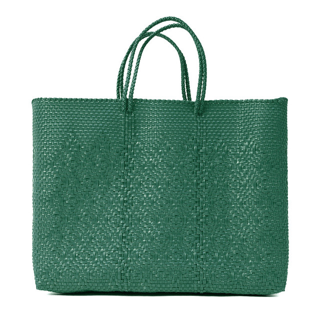 MERCADO BAG ROMBO - Green(L)
