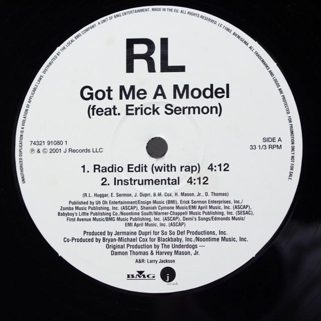 RL Feat. Erick Sermon / Got Me A Model [74321 91080 1] - メイン画像