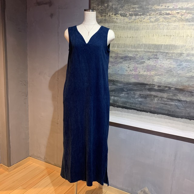 【先行販売価格】∞One Piece Dress∞ Hemp/OC Plain Woven Thin