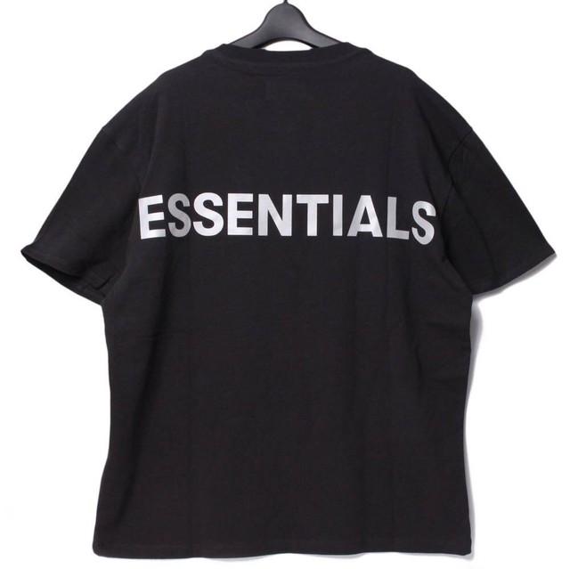 Fear Of God Essentials フィアオブゴッド エッセンシャルズ Tシャツ ブラック XS [全国送料無料] r017281