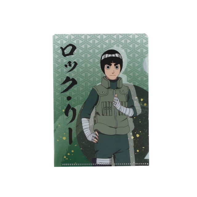 NARUTO A6クリアファイル(リー) 【ニジゲンノモリ限定商品】