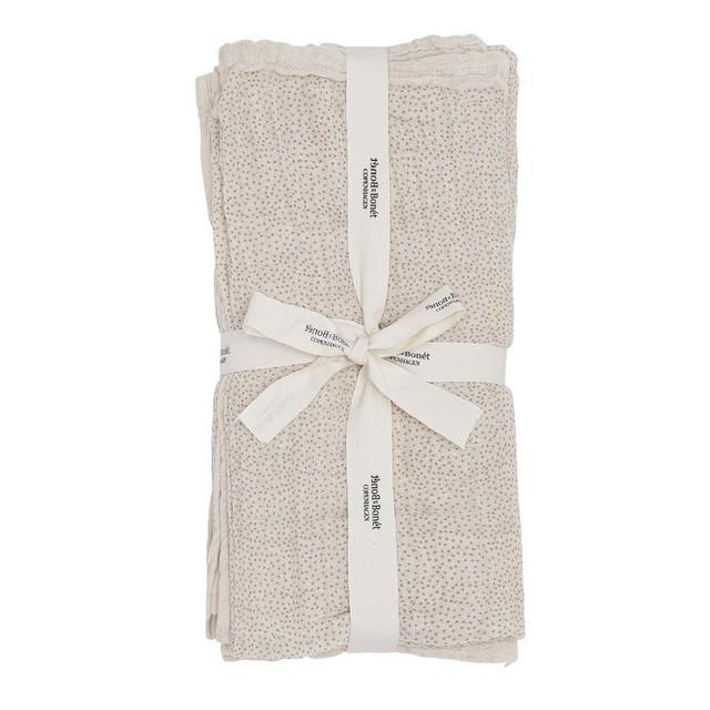 Bonét et Bonét/Muslin cloth Sandshell dot
