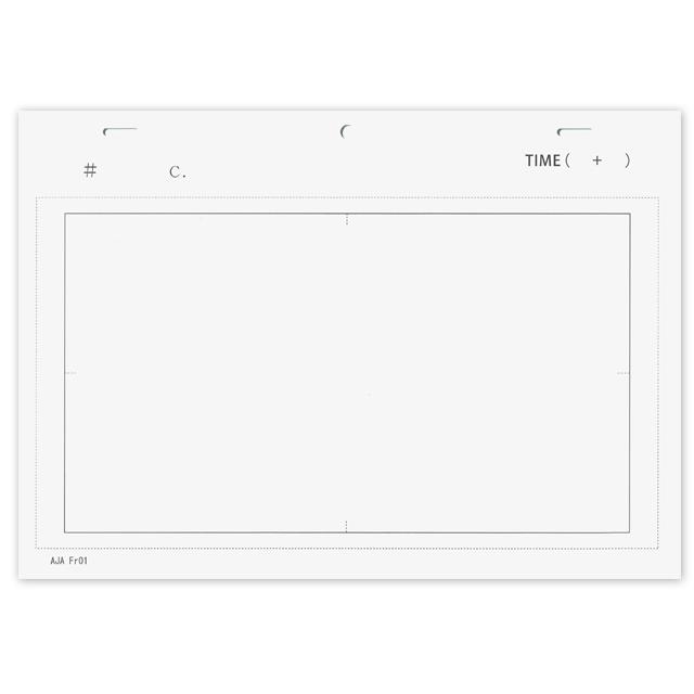 レイアウト用紙(100枚入り)Animation layout paper