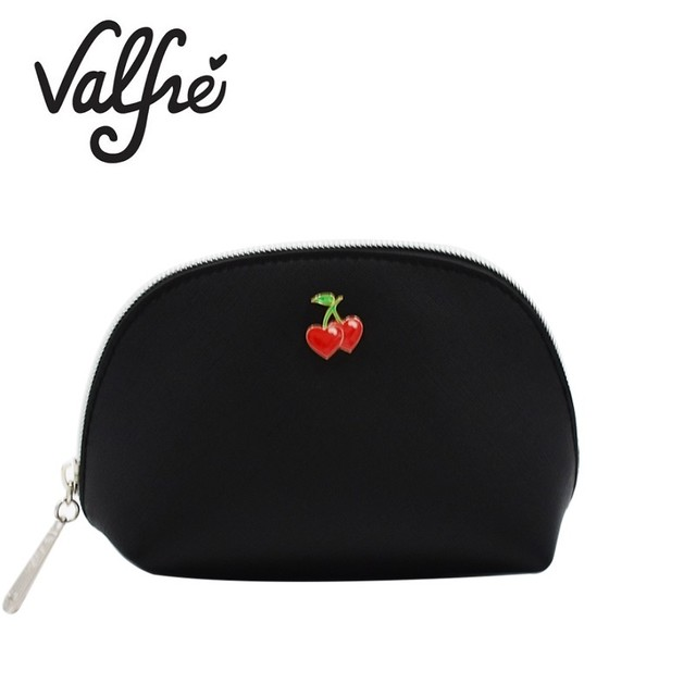 LA発 Valfre チェリー 化粧ポーチ SWEET CHERRY COSMETIC BAG