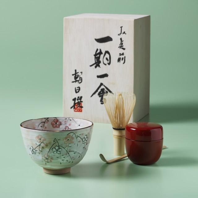 京の抹茶お点前5点セット 一期一会