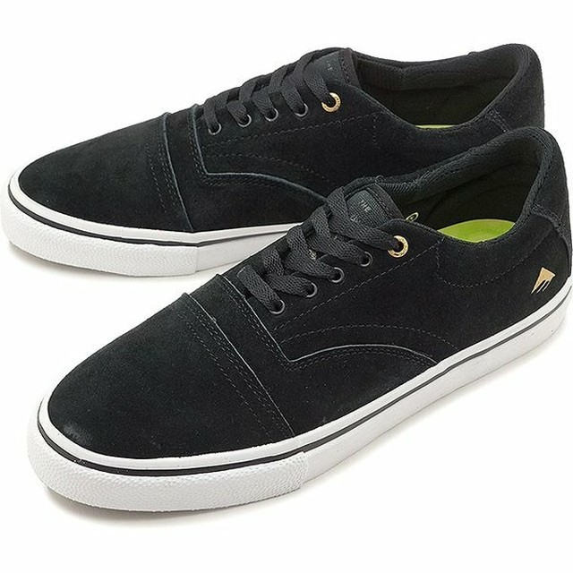 エメリカ Emerica PROVIDER  BLACK/WHITE/GOLD
