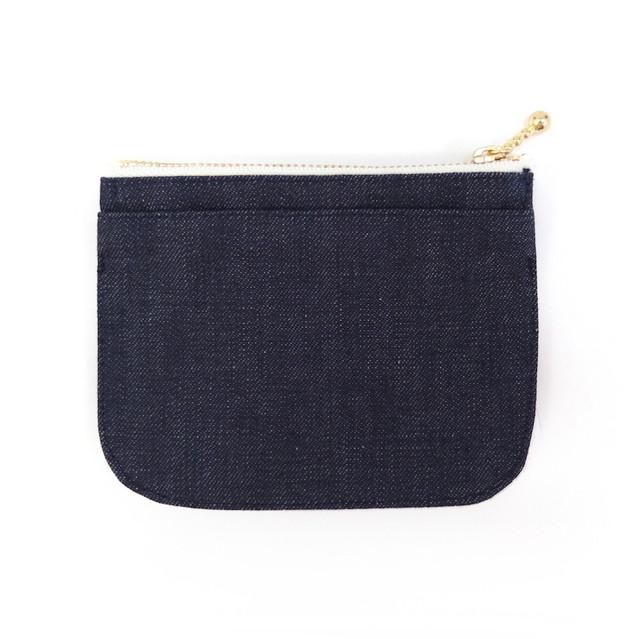 mini財布【denim《濃》】