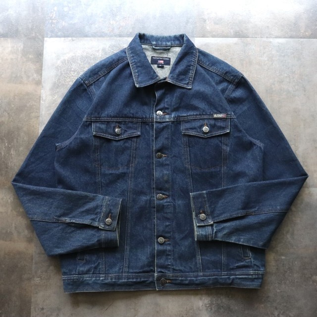 made in USA denim jacket