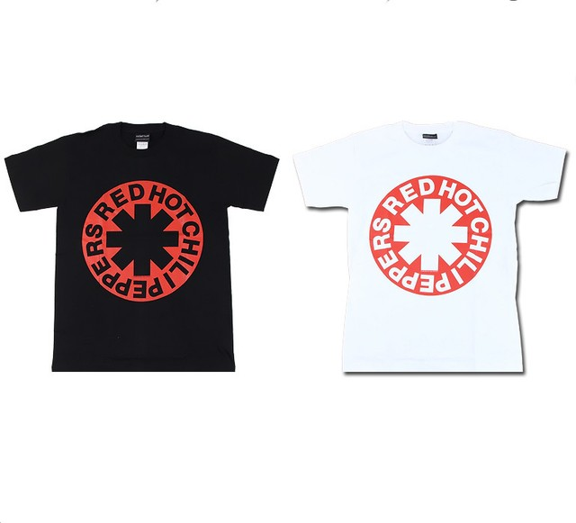 ROCK T-SHIRT【 Red Hot Chili Peppers レッド ホット チリ ペッパーズ アスタリスク 】