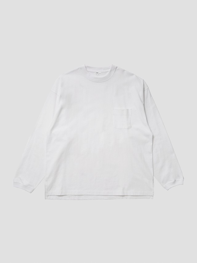 fitfor VORTEX WIDE LONG SLEEVE White 208