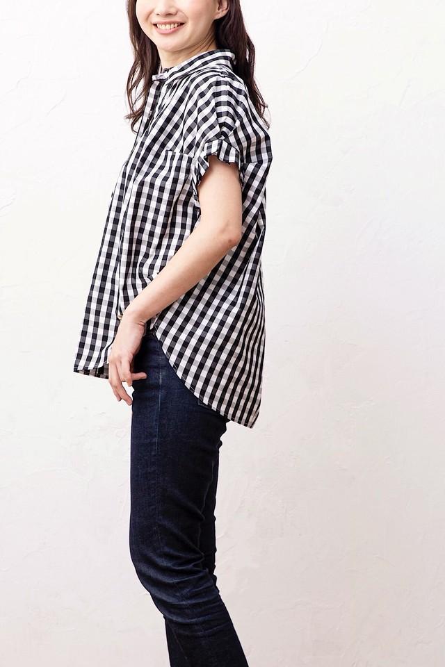 タックスリーブシャツ <CHECK>