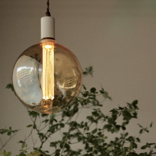 (非調光)E26 エジソンバルブ LED カレイドランプC (パンチングドット柄)