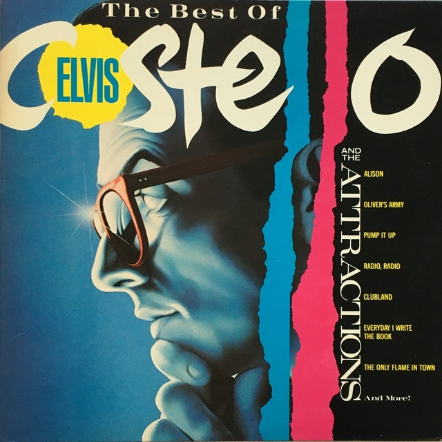 【LP・米盤】Elvis Costello & The Attractions / The Best of Elvis Costello And The Attractions