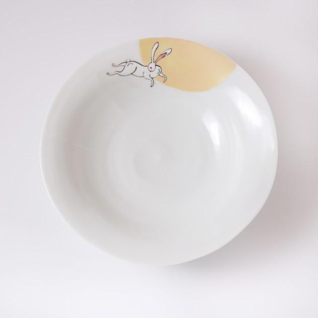 【限定商品】多様鉢 月のうさぎ 金