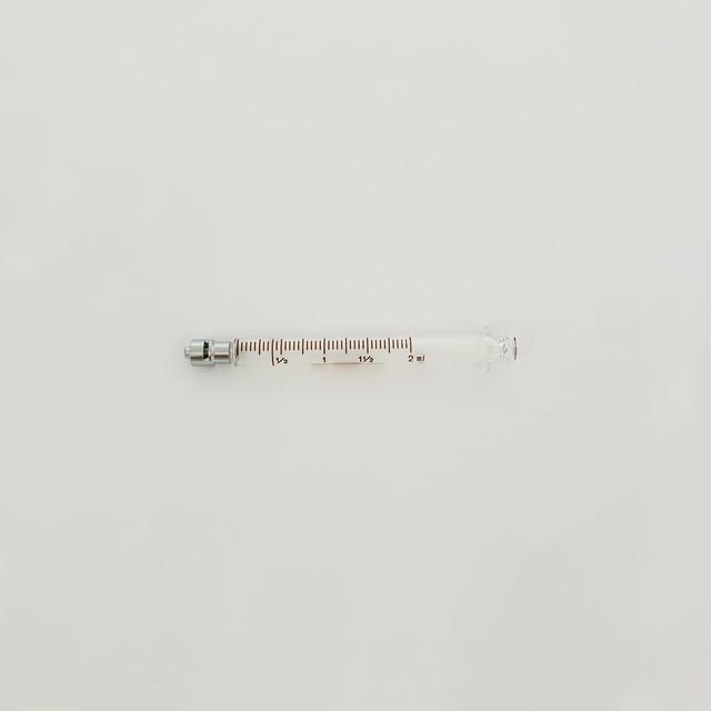 【工業・実験/研究用】 白硬注射器 ロック先 2ml 微量用 1本入(医療機器・ 医薬品ではありません)