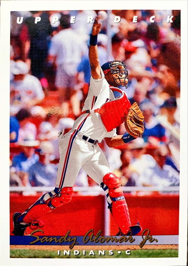 MLBカード 93UPPERDECK Sandy Alomar Jr #255 INDIANS