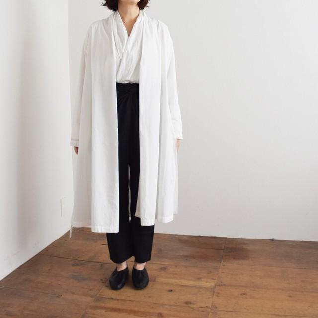 COSMIC WONDER   コズミックワンダー オーガニックコットン羽織りローブ  Beautiful organic cotton Haori robe 11CW06061 white