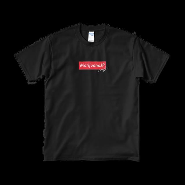 MarijuanaJP×MJ SELECTオリジナルロゴ【Tシャツ】(Box logo Red2色)