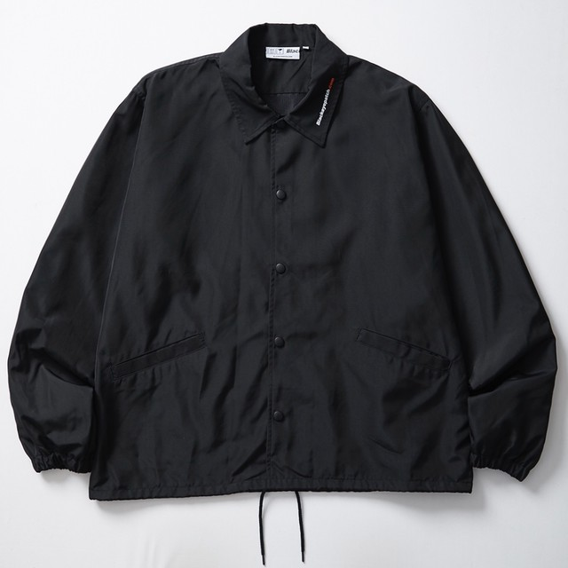 BLACK EYE PATCH / HANDLE WITH CARE COACH JACKET