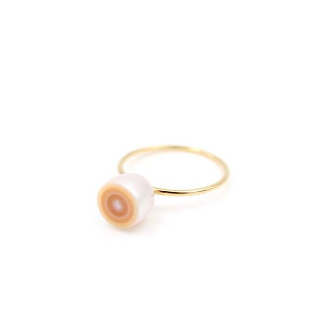 【Limited】Pattern Pearl mini Ring(5e-11)