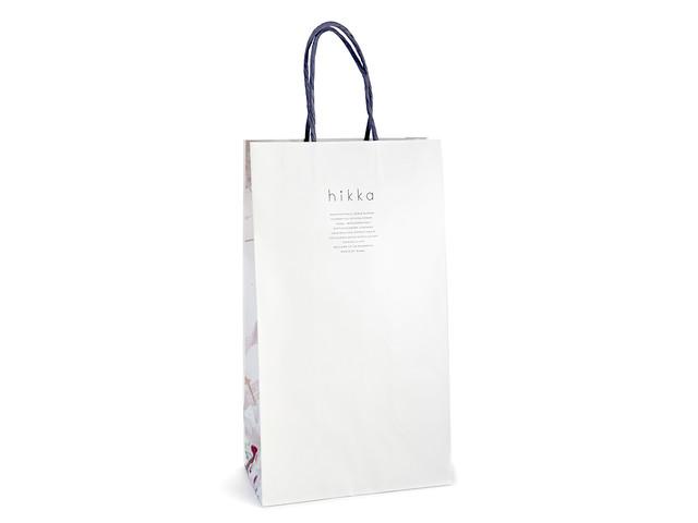 hikka オリジナル ショッピングバッグ