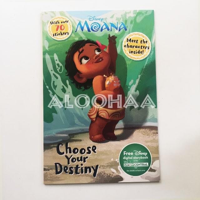 モアナと伝説の海 Choose your Destiny アクティビティブック  #99-012-CT