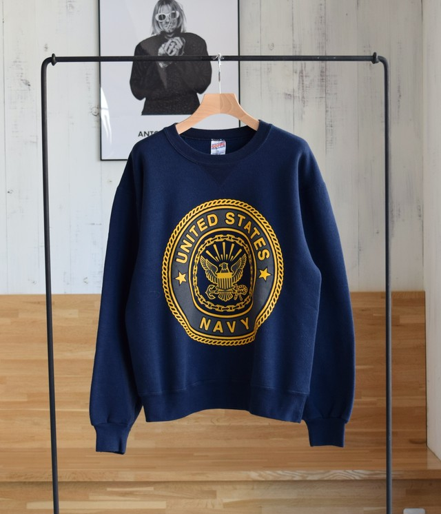 VINTAGE 90s SOFFE SWEAT -UNITED STATES NAVY-
