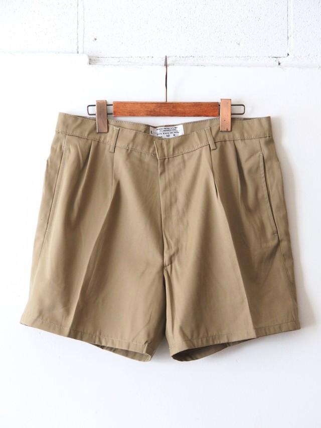 Italian Army AMI Chino Shorts Beige
